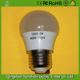 3W-18W LED Bulb Parts with Aluminum+Plastic Body