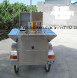 高品質の移動式フライヤーの食糧カート、中国のホットドッグのカートの販売のための食糧トラック