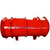 Ventilador de flujo axial de metal y las minas de Química