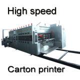 型抜き機械高速に細長い穴をつけるカートンボックスFlexoの自動印刷