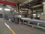 A China fez forno da linha de produção de vidro temperado de vidro