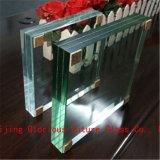 15мм Ultra Clear закаленного ламинированного стекла
