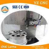 다이아몬드 절단 도구를 가진 바퀴 수선 CNC 선반 기계 수직