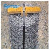 ISOの証明書が付いている熱い浸された電流を通された安い価格の有刺鉄線
