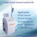 N8有効なIPLはスマートな毛の取り外し機械Shrの選択する