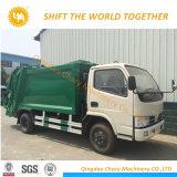 De Vrachtwagen van de Inzameling van het Huisvuil van de Vrachtwagen van de Pers van het Huisvuil van Dongfeng