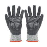 Вырезать жаростойкие перчатки нитриловые перчатки промышленной безопасности