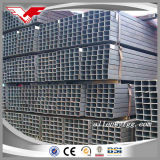 P235B negro de la construcción de los tubos de acero cuadrado y rectangular