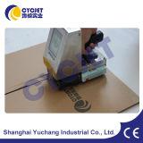 Máquina blanca de la codificación de la tinta del jet portable de la mano de Cycjet para la codificación de la correa