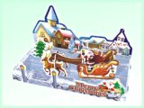 Noël joue le cadeau du puzzle 3D pour Noël (H4551360)