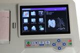 La ISO del Ce certifica 7 la máquina EKG-923s del electrocardiógrafo ECG de Digitaces del canal de la pantalla táctil de la pulgada 6 con Software-Candice del análisis