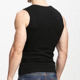 Sport de mode d'hommes exécutant les T-shirts sans manche de gilet à séchage rapide de forme physique