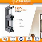 Finestra termica di alluminio residenziale/commerciale della fabbrica di Dali della rottura di scivolamento