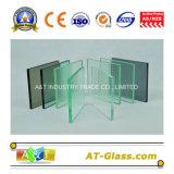 2-19mm grado Templado de Vidrio Flotado transparente para la construcción