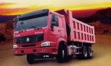 중국 상표 Sinotruk HOWO 6X4 덤프 팁 주는 사람 트럭