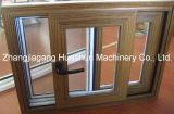 Troqueladora del perfil de la ventana del PVC para el grano de madera