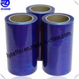 Film bleu de PVC/PE pour le guichet/protection extérieure en verre