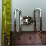 Zwei Stücke gemeinsame silberne Metalllegierungs-blockierenfaltenbildung-für Riemen