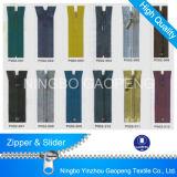 Cremallera de nylon para la ropa / de la ropa / zapatos / bolso / la caja 3 # 4 # 5 # 7 # 8 # 10 #