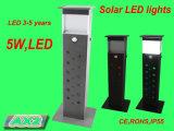 Lumière solaire en aluminium pour jardin