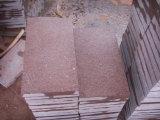 Porphyry Flamed красного гранита камень Cube асфальтирование камня на пол