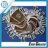 주문 백색 접착성 인쇄 로고와 패턴 비닐 스티커
