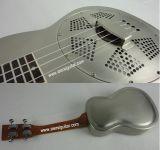 Ukulele en laiton de résonnateur de corps en métal de Nrp 24 prix de gros de pouce