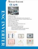 O inversor da freqüência com fase monofásica 110V entrou 3 a saída da C.A. do pH 220V