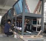 Handelsgebäude Using die Save70% Energie 12kw, 19kw, 35kw, 70kw, Warmwasserbereiter der 105kw heraus 60deg c Dhw Monobloc Wärmepumpe-12kw