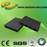 Plancher composé bon marché de Decking du solide WPC de bonne qualité