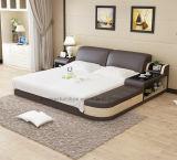 Bequemes grosses Entwurfs-Schlafzimmer-moderne Möbel des seitlichen Vorstand-Lb8820