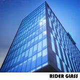 5-6mmはガラスによって絶縁されたガラス低いEの二重カーテン・ウォールをカスタマイズした