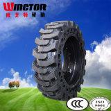 10-16.5 Neumático sólido del buey del patín, neumático 10-16.5 del cargador del lince