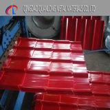 Materiale da costruzione dei prodotti siderurgici preverniciato coprire strato