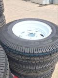 Aanhangwagens voor Tractor met de Vloer van de Plaat van de Controleur