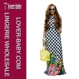 Venda Por Atacado 2016 Casual Maxi Women Ladies Dress (L51330)
