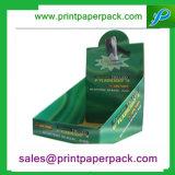 Caja de papel cartón Dulces de Chocolate Expositor Expositor de diversos productos Caja de papel personalizado