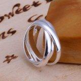 Vrij Verschepend 925 Zilveren Geplateerde Ringen van Juwelen