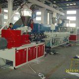 tubulação gêmea do PVC da extrusora de parafuso 500-600kg/H que faz a linha da extrusão da máquina/tubulação