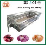 ルート野菜のポテトおよびタマネギの洗浄および皮機械
