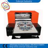 Impressora do DTG do tamanho de Cj-L1800t Digitas A3 direta à impressão da impressora do t-shirt do vestuário na tela