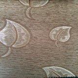 ткань драпирования синеля жаккарда 100%Polyester