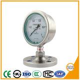 manometro del manometro di 100mm con acciaio inossidabile