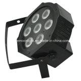 단계 Equipment Mini PAR Light 4in1 LED Flat PAR 7X10W