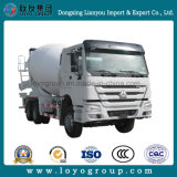 최신 인기 상품 Sinotruk HOWO 371HP 6X4 구체 믹서 트럭