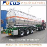 46000 litres de diesel/essence/semi-remorque liquide de camion-citerne pour le marché de l'Amérique du Sud