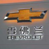 Véhicule Showroon DEL annonçant le logo automatique avec des noms