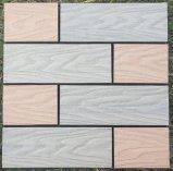 Европе со стандартным УФ дерева композитный блокировка WPC DIY Пол плитки