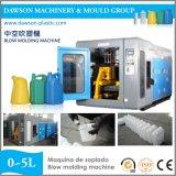 O HDPE PP Jerry de 1L 2L 5L enlata a máquina de molde do sopro do frasco