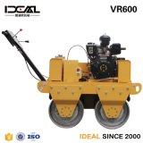 Rullo compressore vibratorio del doppio timpano con il motore diesel Changchai